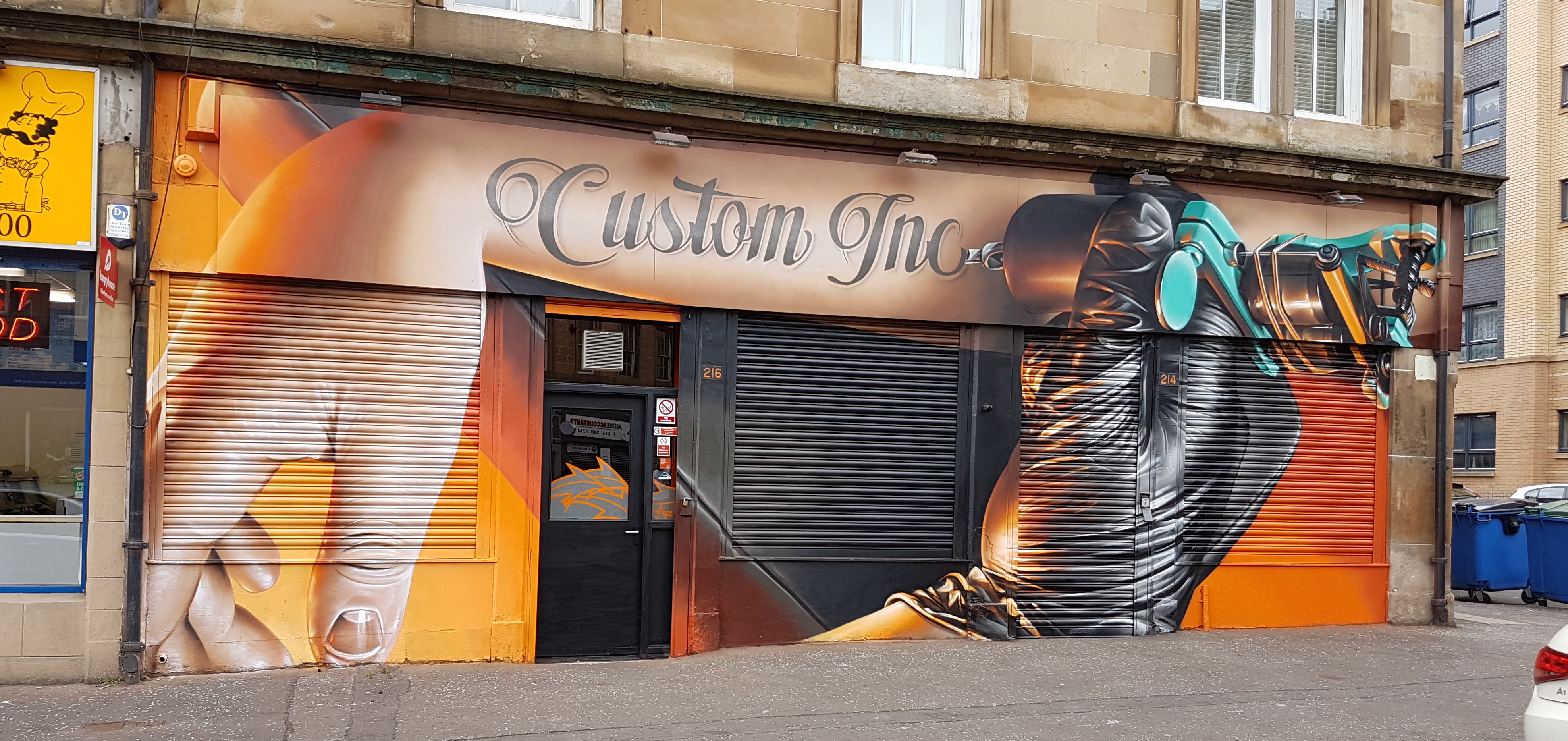 Custom Inc Tattoo Studio is home to six talented artists, each with ...